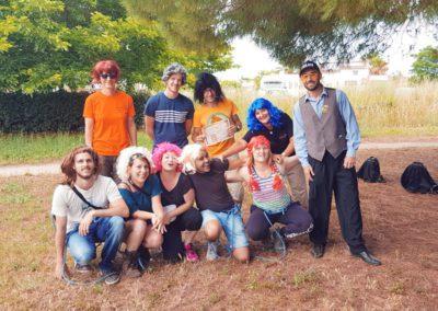 Anniversaire des animateurs de rochers de Maguelone
