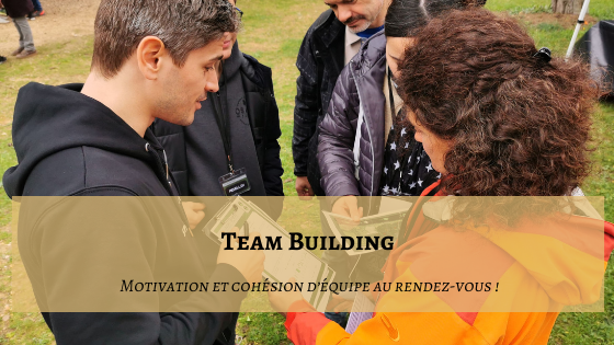 Team Building : Motivation et cohésion d'équipe au rendez-vous !